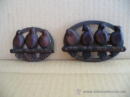 HEVILLA MUY ANTIGUA CON BROCHE A JUEGO.(BRONCE Y MADERA) A EL BROCHE LE FALTA EL GANCHO. (Antigüedades - Moda - Otros)