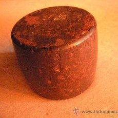 Antigüedades: TAC DE PLATERO, DE ACERO. Lote 27176397