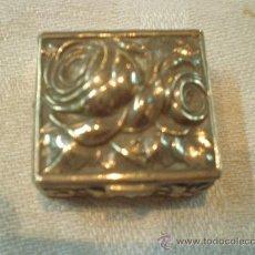 Antigüedades: CAJA DE PLATA . Lote 27239982