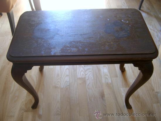 Antigua mesa tipo isabelino mueble antiguo a comprar - Tipos de muebles antiguos ...