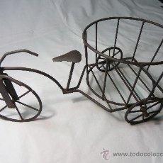 Macetero bicicleta de hierro comprar maceteros antiguos en todocoleccion 27289987 - Bicicleta macetero ...