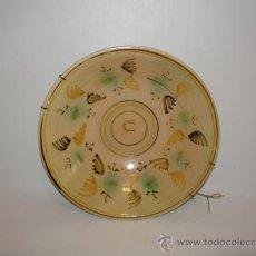 Antigüedades: PLATO DE NOVIA DE PUENTE DEL ARZOBISPO C.1930. Lote 27342482