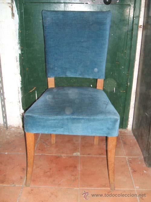 Tapizado de sillas antiguas elegant restaurar una silla for Como tapizar sillas antiguas