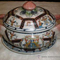 Antigüedades: PEQUENA SOPERA DE PORCELANA. Lote 27378540