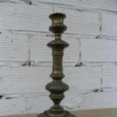 Antigüedades: CANDELABRO DE BRONCE . Lote 27405510