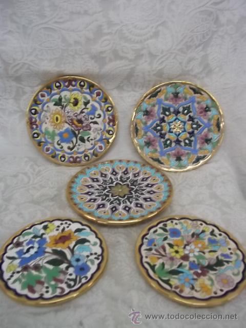 Platos de ceramica de sevilla decorados a mano comprar for Platos de ceramica