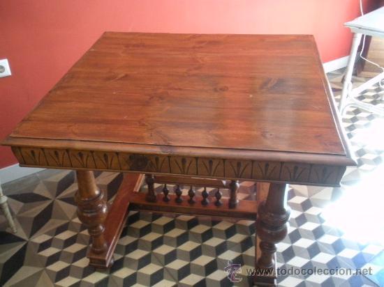 mesa de comedor - Comprar Mesas Antiguas en todocoleccion - 27522711