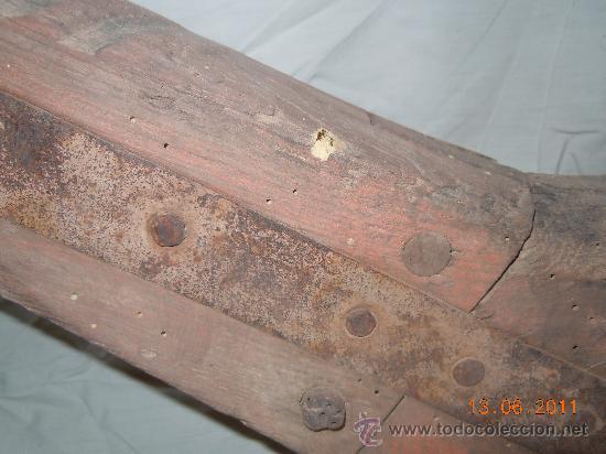 Antigüedades: ANTIGUO YUGO DE BUEYES - Foto 7 - 27825029