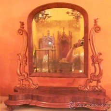 Antigüedades: MÁGNIFICO GRAN TOCADOR SOBREMESA ISABELINO. Lote 27630208