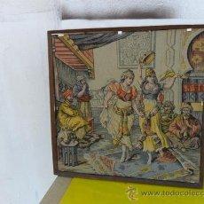 Antigüedades: TAPIZ CON MARCO. Lote 27643843