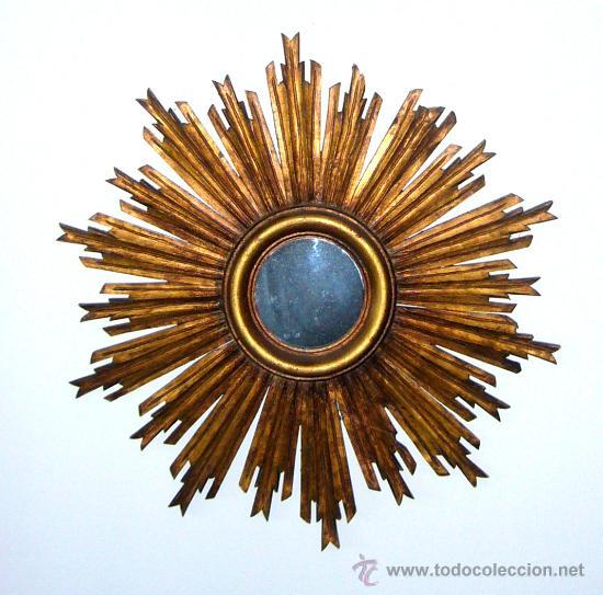 espejo en forma de sol de 50cm de diametro Comprar Espejos