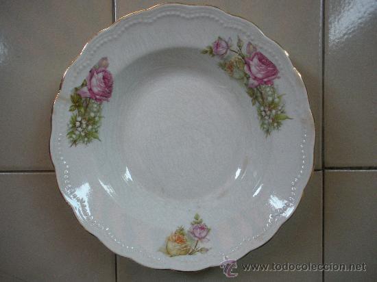 Antigüedades: dos antiguos platos de san juan de aznalfarache, medidas 23 y 19 cm. - Foto 3 - 27667240