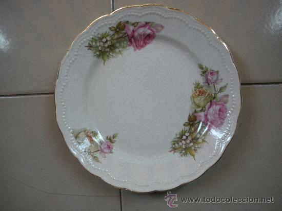 Antigüedades: dos antiguos platos de san juan de aznalfarache, medidas 23 y 19 cm. - Foto 4 - 27667240
