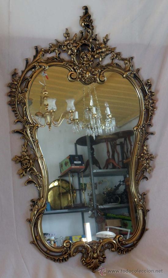Espejo de bronce vendido en venta directa 27678387 - Espejo veneciano antiguo ...