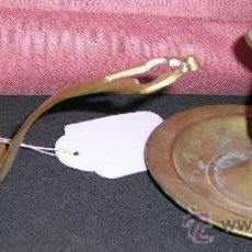 Antigüedades: 2 PALMATORIAS ANTIGUAS EN METAL Y CON SU PÁTINA DE USO. SOBRE SIGLO XVIII.. Lote 27754085
