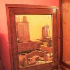 Antigüedades: ANTIGUO ESPEJO BASCULANTE DE TIENDA. Lote 27725173