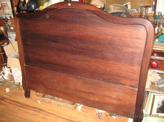 cama de madera palo santo - cabecero y piecero - Comprar Camas ...