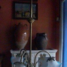 Antigüedades: PRECIOSA LAMPARA MODERNISTA. Lote 27737486