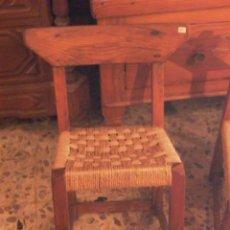Antigüedades: PAREJA DE SILLAS PEQUEÑAS DE MALLORCA. Lote 27787371