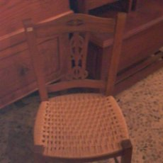 Antigüedades: PEQUEÑA SILLA DE MALLORCA. Lote 27787605