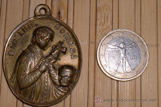 MEDALLA SIGLO XIX (Antigüedades - Religiosas - Medallas Antiguas)