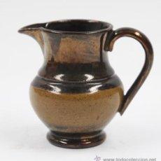 Antigüedades: MUY PEQUEÑA JARRA DE REFLEJOS DE BRISTOL, 7 CM DE ALTURA, .. Lote 27796895