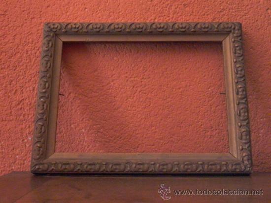 Antigüedades: LOTE DE 3 PEQUEÑOS MARCOS DORADOS. - Foto 2 - 27805910