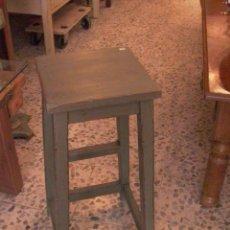 Antigüedades: ANTIGUO TABURETE DECAPE. Lote 27806041