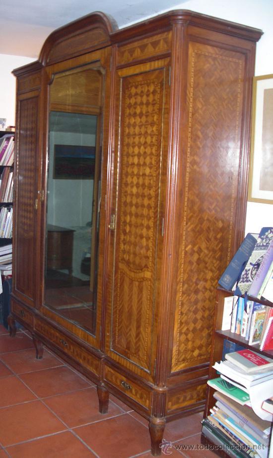 Armarios Antiguas De Madera : Armario cuerpos madera de cuba m?s a?o comprar