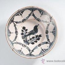 Antigüedades: PLATO DE CERÁMICA CATALAN, CIRCA 1900. Lote 27816127