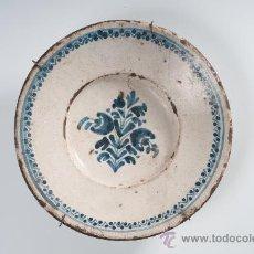 Antigüedades: PLATO DE CERÁMICA CATALAN, CIRCA 1900. Lote 27816844
