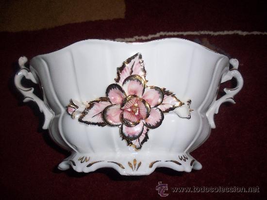 CENTRO DE PORCELANA, AÑOS 30 (Antigüedades - Porcelanas y Cerámicas - Otras)