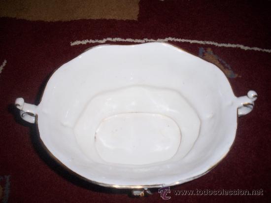Antigüedades: Centro de porcelana, años 30 - Foto 2 - 27822598