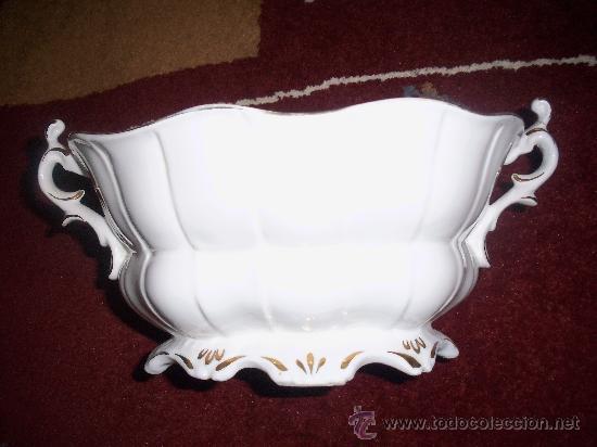 Antigüedades: Centro de porcelana, años 30 - Foto 3 - 27822598