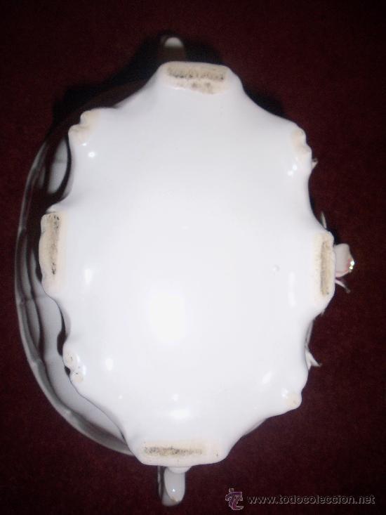Antigüedades: Centro de porcelana, años 30 - Foto 4 - 27822598