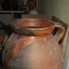 Antigüedades: OLLA - PUCHERO ANTIGUA GRANDE. Lote 27829596