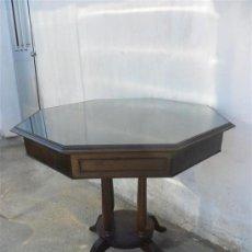 Antigüedades: MESA DE JUEGO DE AJEDREZ Y CARTAS. Lote 27842516