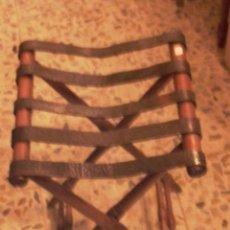 Antigüedades: ANTIGUA SILLA DE CAMPAÑA PLEGABLE. Lote 27869617
