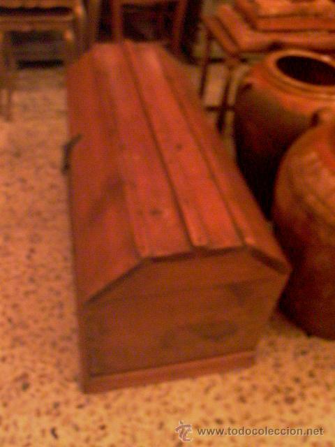 Antigüedades: ANTIGUO BAUL PROCEDENTE DE CONVENTO DE MONJAS - Foto 2 - 27868498