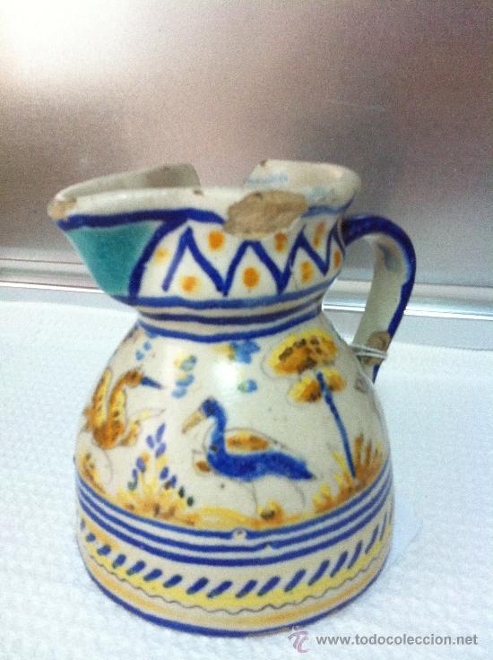 JARRA VINATERA DE TRIANA - SEVILLA (Antigüedades - Porcelanas y Cerámicas - Triana)
