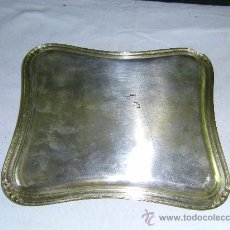 Antigüedades: BANDEJA PLATEADA. Lote 27883387