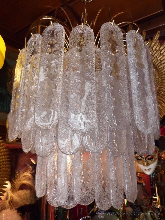 lampara techo (chandelier murano murrina lamp) - Comprar Lámparas ...