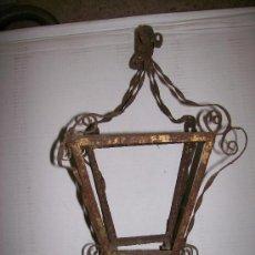 Antigüedades: FAROL HIERRO. Lote 32244059