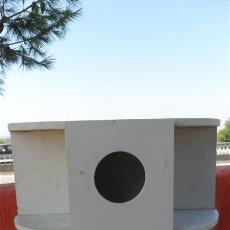 Antigüedades: PEQUEÑO MUEBLESITO DE BAÑO MADERA. Lote 28018955
