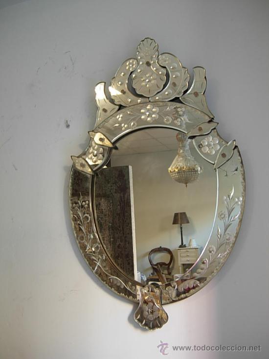 Espejo veneciano antiguo vendido en venta directa 28924631 - Espejo veneciano antiguo ...