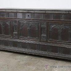 Antigüedades: ARCA CATALANA S.XVIII EN NOGAL, Y DIMENSIONES.. Lote 28033125
