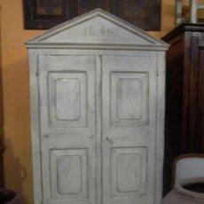 Antigüedades: FABULOSO ARMARIO DEL AÑO 1846 . Lote 28050772