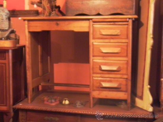 MESA DESPACHO ROBLE AMERICANO (Antigüedades - Muebles Antiguos - Mesas de Despacho Antiguos)