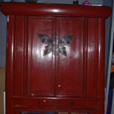Antigüedades: MUEBLE CHINO ANTIGUO ¡REBAJADO!. Lote 28061141