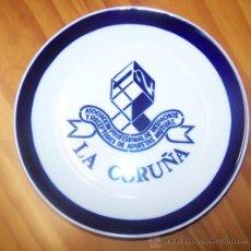 Plato Ceramica Sargadelos 1X2 Plate Ceramique La Coruña 19,50 Diam.